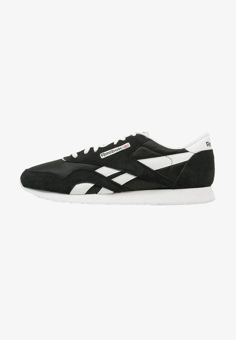 Reebok Classic - CLASSIC NYLON BREATHABLE LIGHTWEIGHT SHOES - Matalavartiset tennarit - black/white