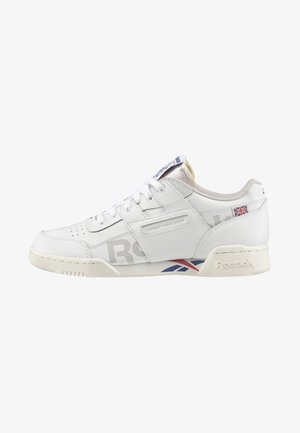Sneaker low - white blue/ red