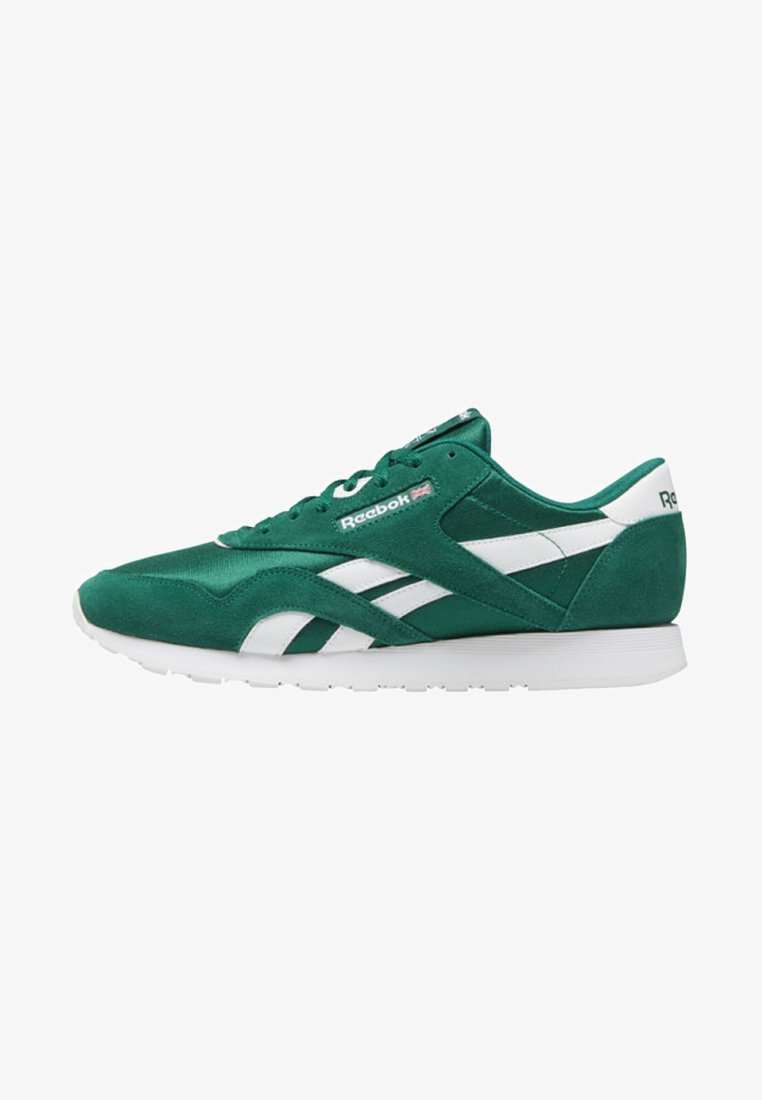 Reebok Classic - CLASSIC NYLON SHOES - Sneaker low - green/white