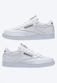 Reebok Classic - CLUB C 85 SHOES - Trainers - white - 8