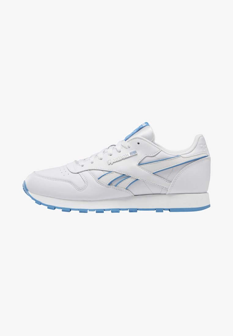 Reebok Classic - CLASSIC LEATHER SHOES - Sneaker low - white/blue/white