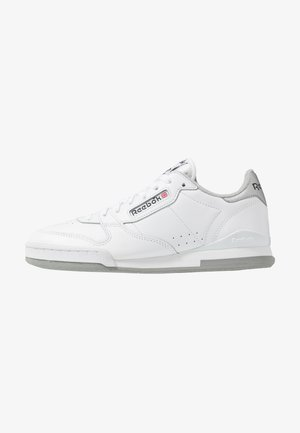 PHASE 1 MU - Trainers - white/matte silver/grey/red