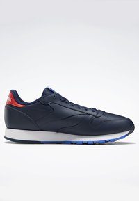 Reebok Classic - CLASSIC LEATHER SHOES - Sneaker low - blue - 4