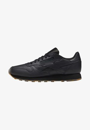 CLASSIC LEATHER SHOES - Sneakersy niskie - black