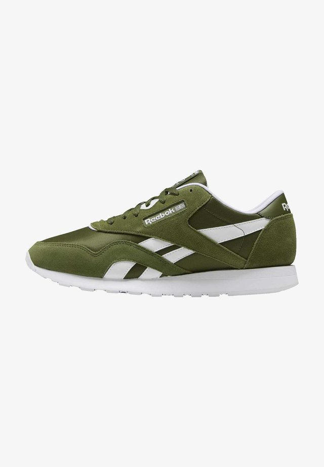 CLASSIC NYLON SHOES - Trainers - green