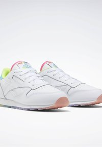 Reebok Classic - CLASSIC LEATHER SHOES - Sneakers basse - white - 3