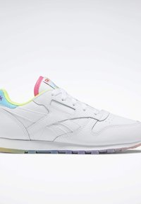 Reebok Classic - CLASSIC LEATHER SHOES - Sneakers basse - white - 6