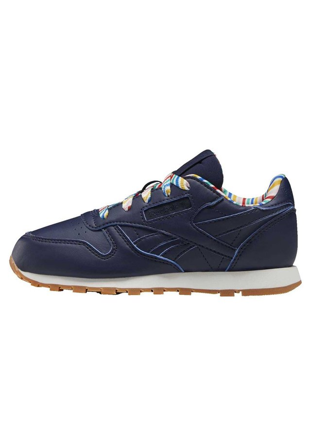 CLASSIC LEATHER SHOES - Sneaker low - blue