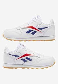 Reebok Classic - CLASSIC LEATHER SHOES - Matalavartiset tennarit - white - 8