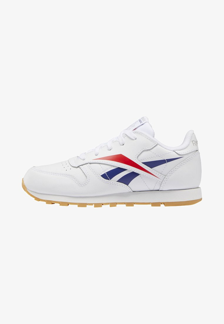 Reebok Classic - CLASSIC LEATHER SHOES - Matalavartiset tennarit - white