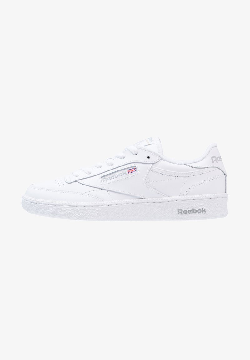 Reebok Classic - CLUB C 85 LEATHER UPPER SHOES - Zapatillas - white/sheer grey