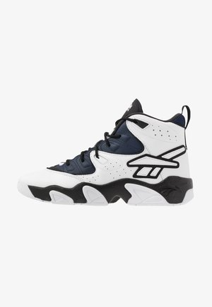 AVANT GUARD TRANSITION BRIDGE SHOES - High-top trainers - black/white/collegiate navy