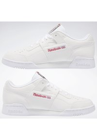 Reebok Classic - WORKOUT PLUS SHOES - Sneakers - white - 1