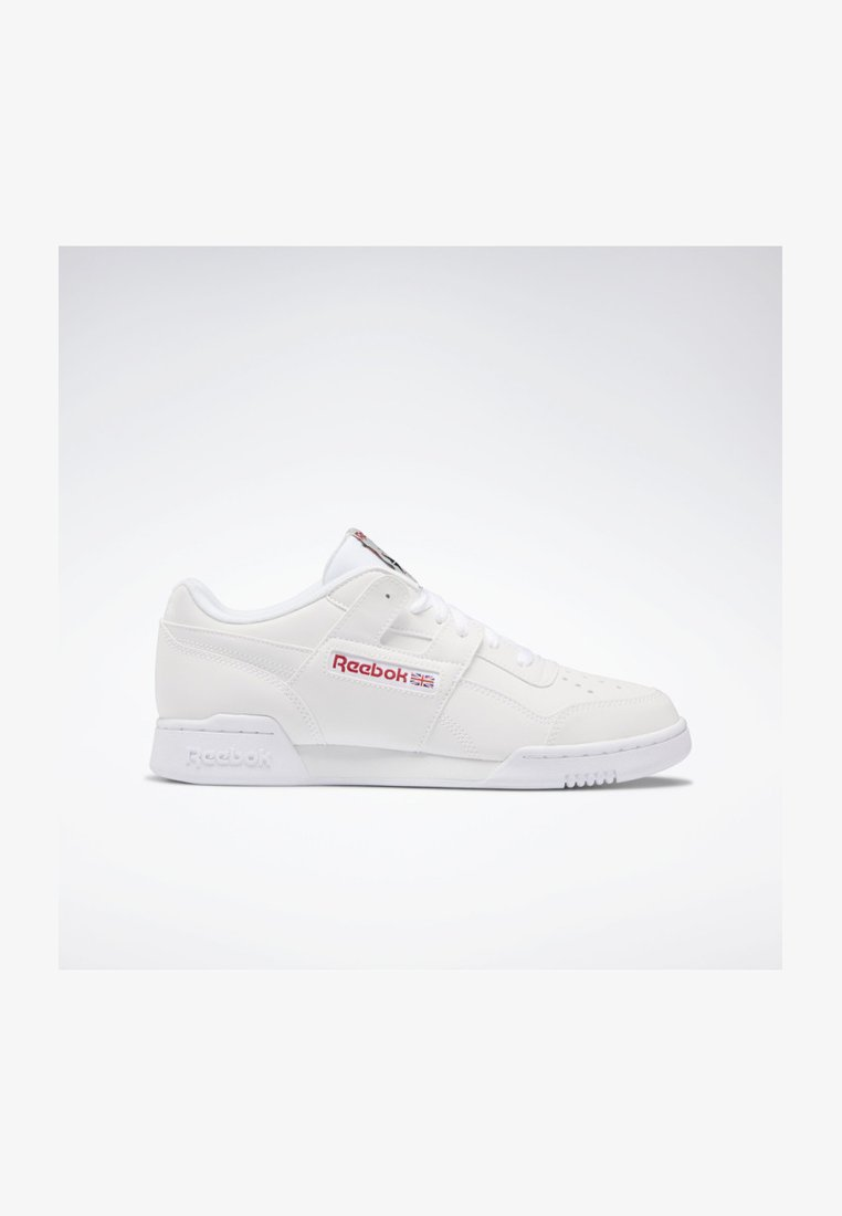 Reebok Classic - WORKOUT PLUS SHOES - Sneaker low - white
