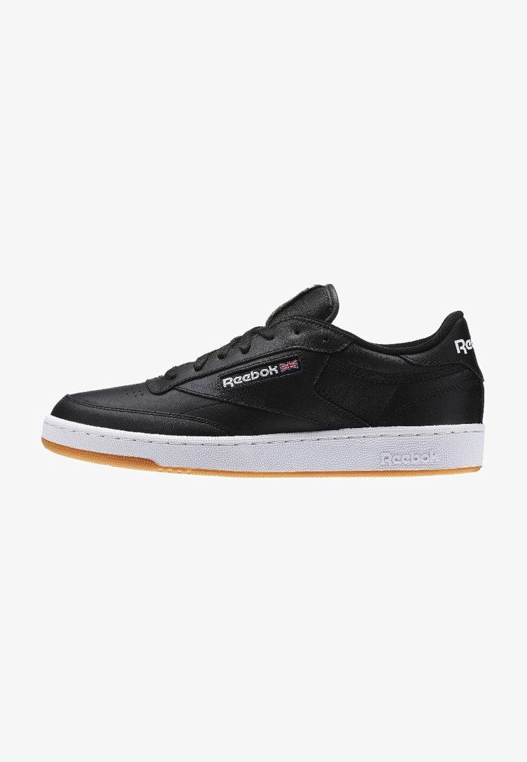 Reebok Classic - CLUB C 85 - Sneakers - intense black/white-gum