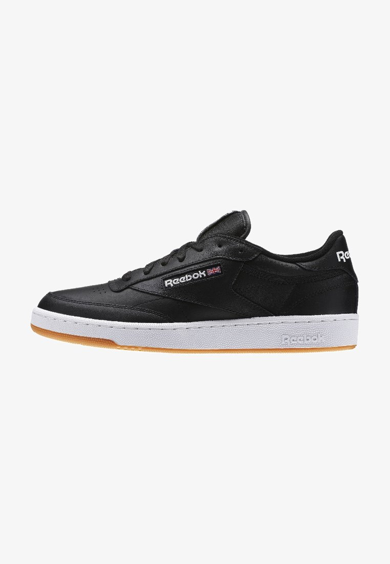 Reebok Classic - CLUB C 85 - Sneakersy niskie - intense black/white-gum