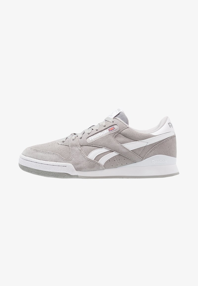 Reebok Classic - PHASE 1 PRO - Trainers - tin grey/white