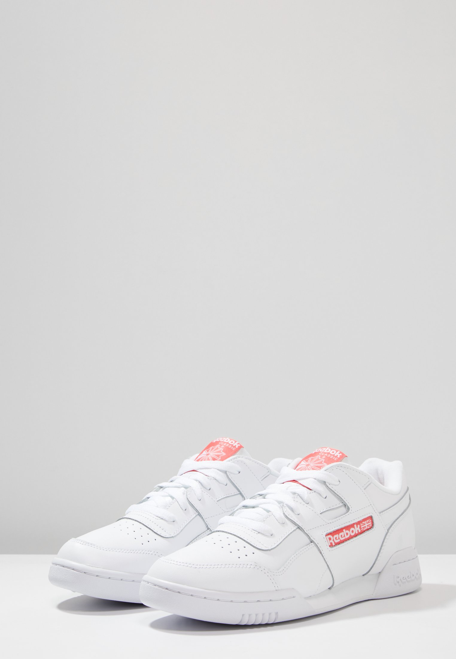 PlusBaskets Rose Reebok Classic bright Basses White Workout I2WEDH9Y