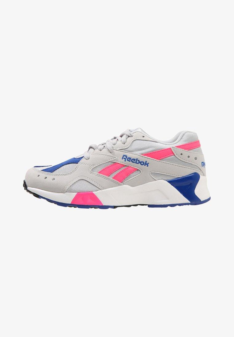 Reebok Classic - AZTREK - Sneakers - grey/acid pink/royal