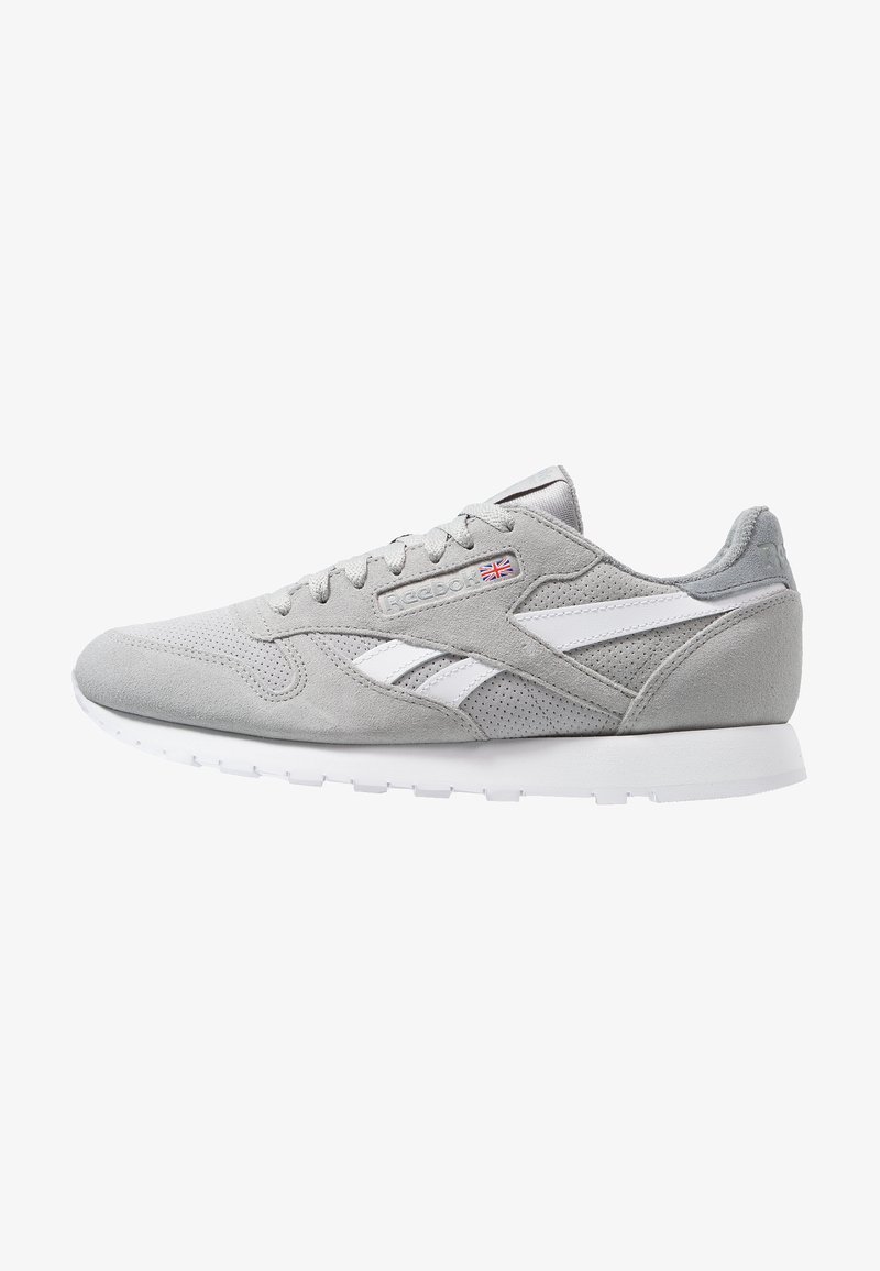 Reebok Classic - CL LEATHER MU - Trainers - true grey