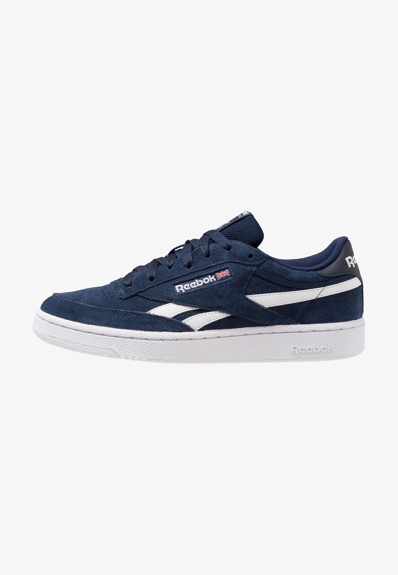 Reebok Classic - REVENGE PLUS - Trainers - collegiate navy/white