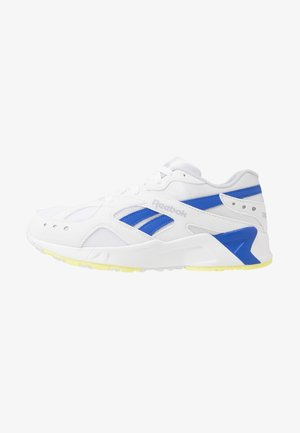 AZTREK - Joggesko - white/cold grey/cobalt