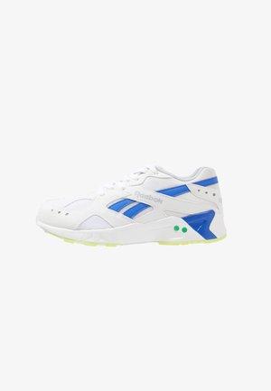 AZTREK - Sneaker low - white/cold grey/cobalt