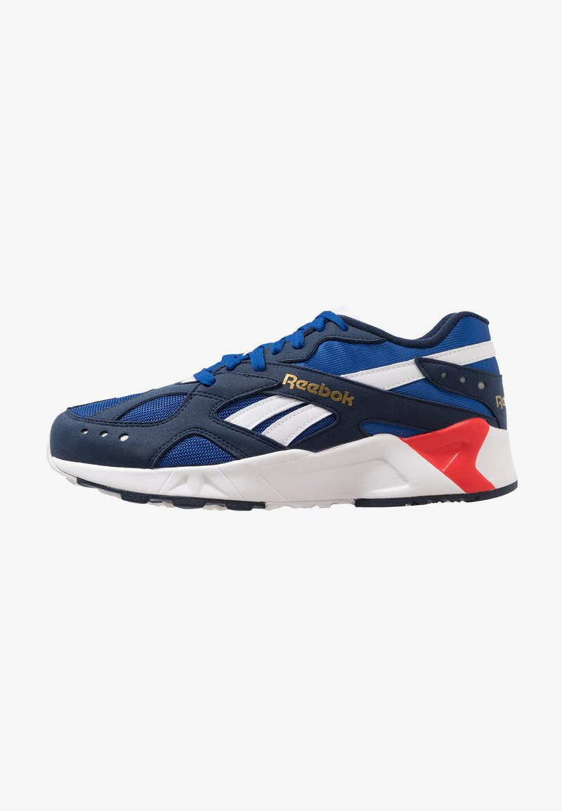 Reebok Classic - AZTREK - Trainers - navy/royal/white/red/grey