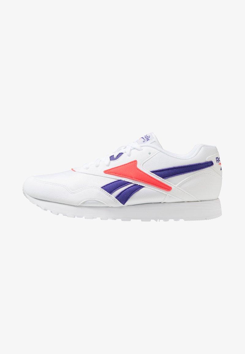 Reebok Classic - RAPIDE - Sneakers laag - white/team purple/neon red