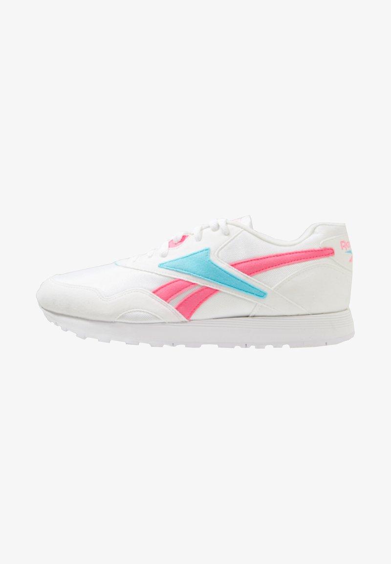 Reebok Classic - RAPIDE - Joggesko - white/solar pink/neon blue