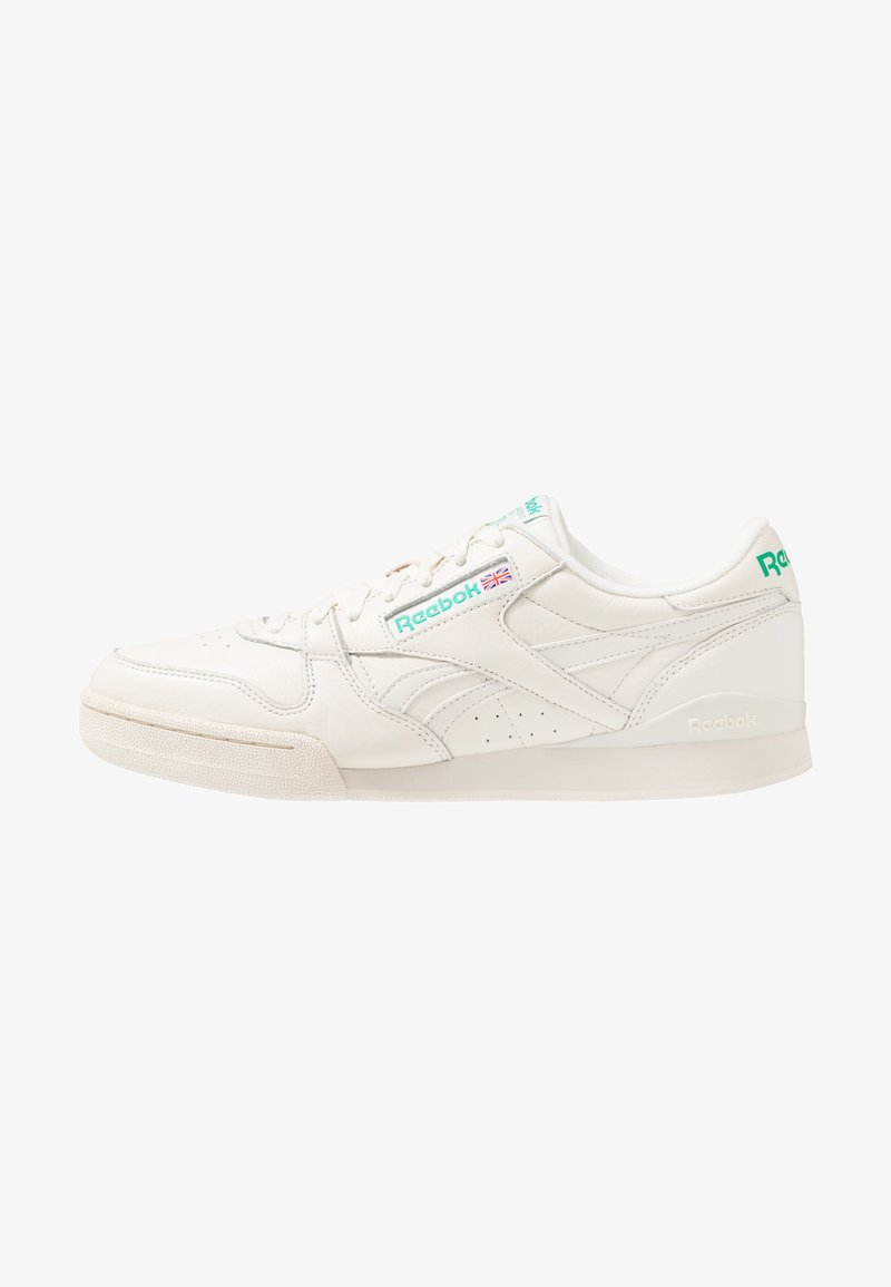 Reebok Classic - PHASE 1 PRO SOFT SUEDE RETRO SHOES - Sneaker low - chalk/paperwhite/emerald