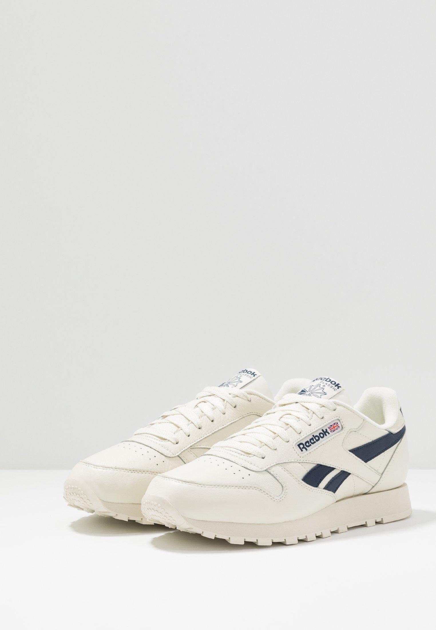 CLUB C 85 LEATHER UPPER SHOES Sneakers laag chalkpaperwhitecollegiate navy