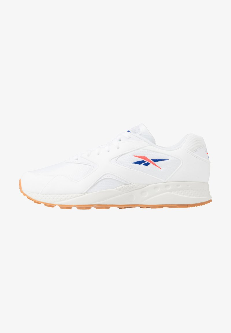 Reebok Classic - TORCH HEX CHUNKY SHOES - Sneakers - white/chalk/grey/red/cobalt