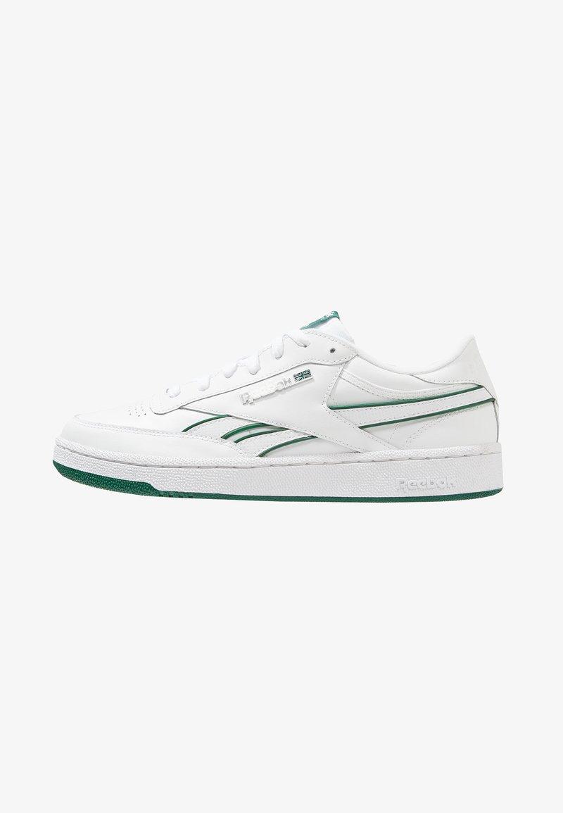 Reebok Classic - REVENGE PLUS - Sneaker low - white/clover green