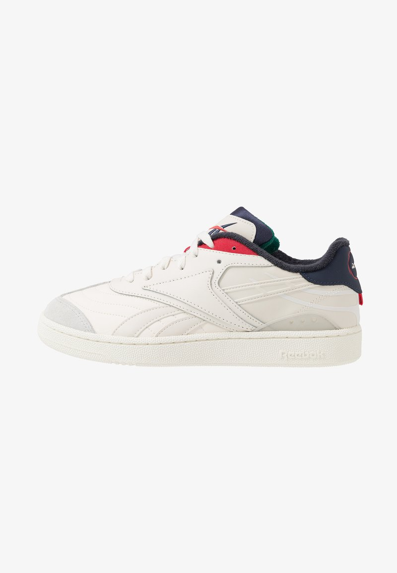 Reebok Classic - CLUB C RC 1.0 LIGHT TENNIS STYLE SHOES - Sneaker low - chalk/skull grey/heritage navy