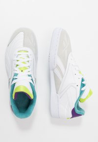 Reebok Classic - CLUB C RC 1.0 LIGHT TENNIS STYLE SHOES - Sneakers - white/regal purple/skull grey - 1