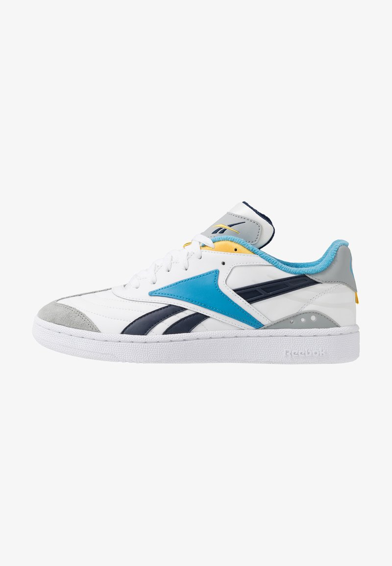 Reebok Classic - CLUB C RC 1.0 LIGHT TENNIS STYLE SHOES - Sneaker low - white/true grey/collegiate navy