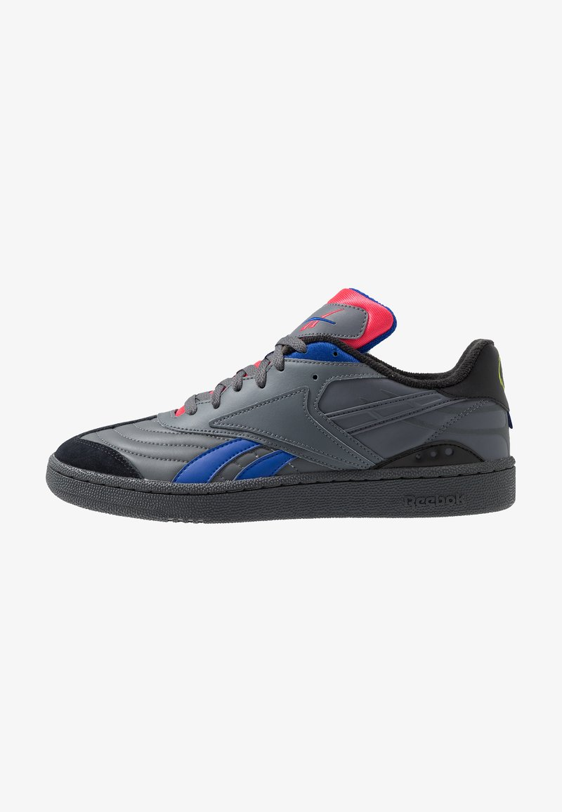 Reebok Classic - CLUB C RC 1.0 LIGHT TENNIS STYLE SHOES - Sneaker low - true grey/black/hype pink