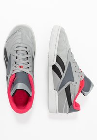 Reebok Classic - CLUB C RC 1.0 LIGHT TENNIS STYLE SHOES - Zapatillas - true grey/black - 1