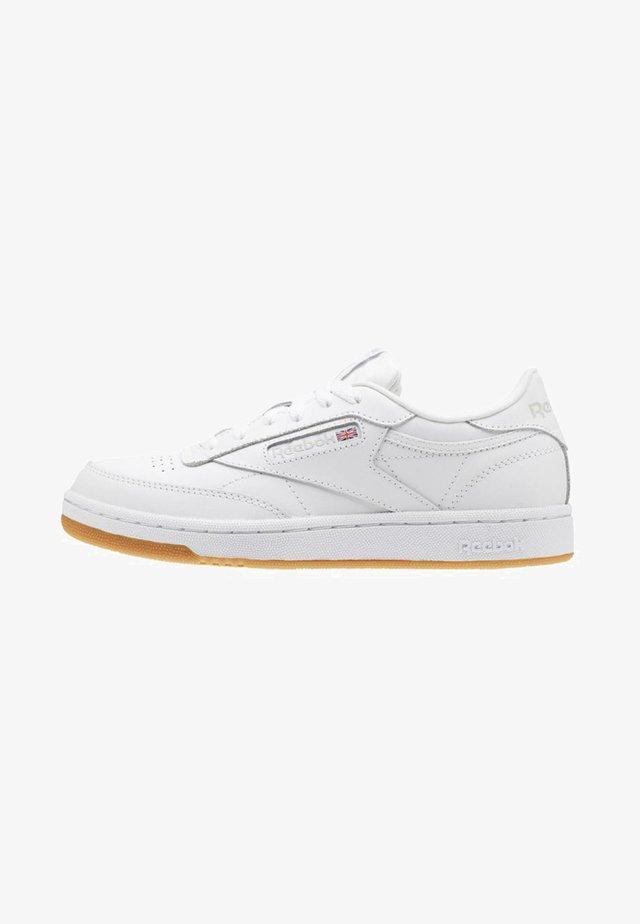 Sneaker low - white/ brown