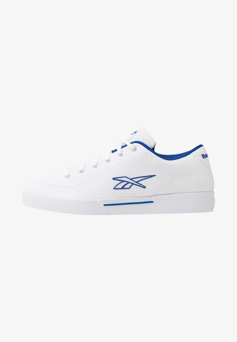 Reebok Classic - SLICE RETRO SKATE SHOES - Sneaker low - white/collegiate royal