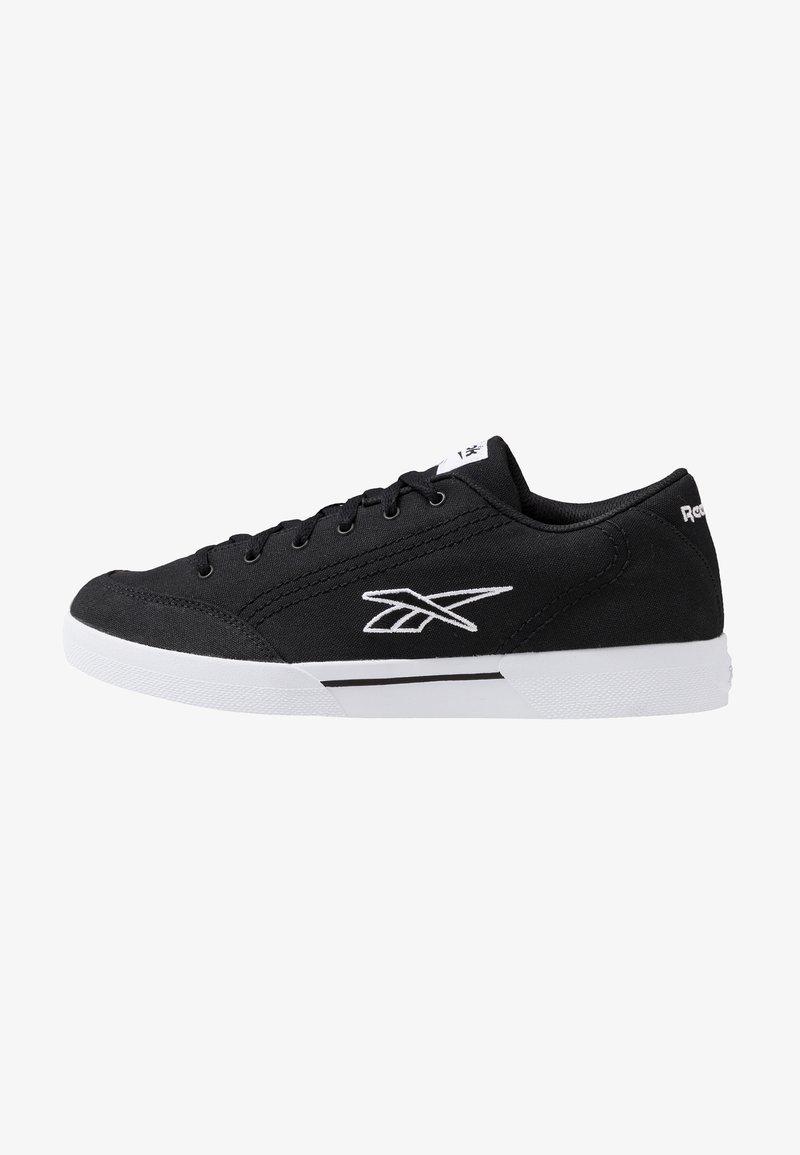 Reebok Classic - SLICE RETRO SKATE SHOES - Zapatillas - black/white