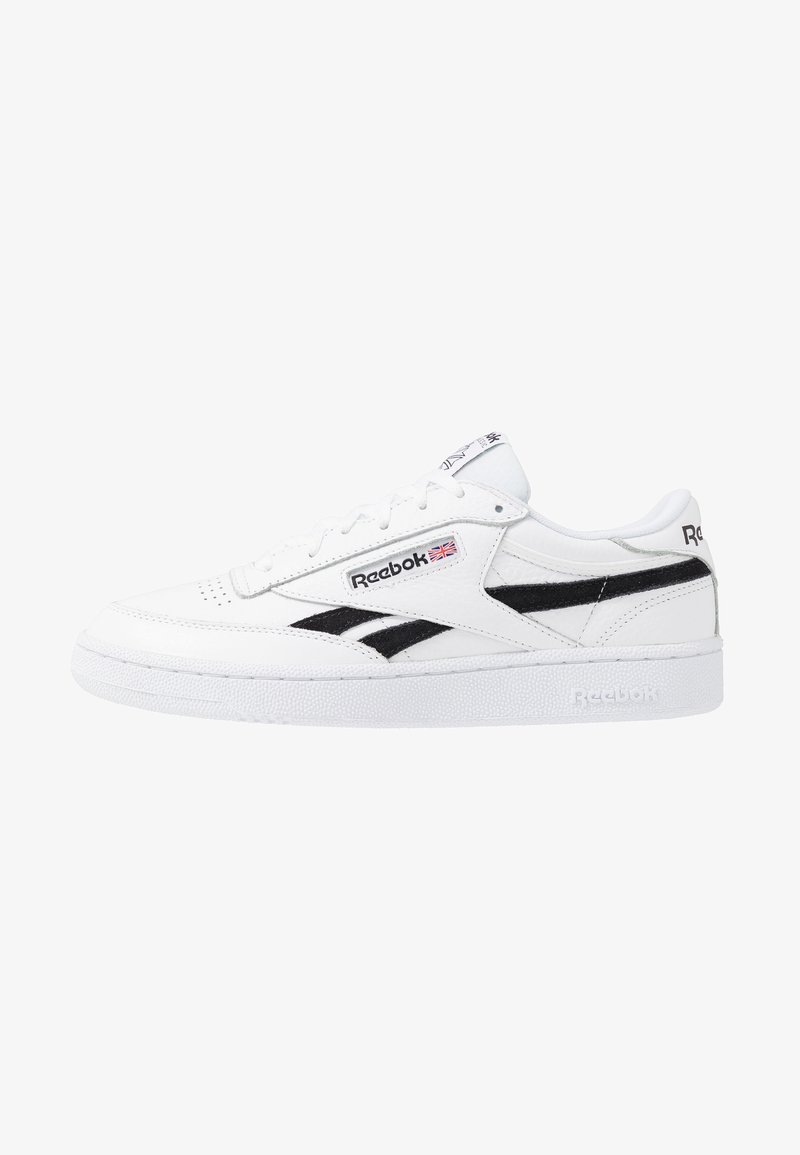 Reebok Classic - CLUB C REVENGE LEATHER UPPER SHOES - Trainers - white/black/none