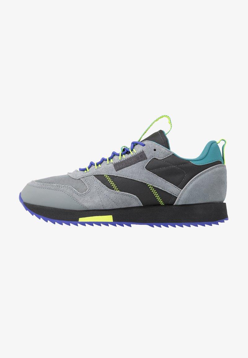 Reebok Classic - CLASSIC LEATHER RIPPLE TRAIL MUD GUARD SHOES - Sneakers - true grey/mineral mist