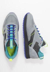 Reebok Classic - CLASSIC LEATHER RIPPLE TRAIL MUD GUARD SHOES - Sneakers - true grey/mineral mist - 1