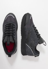 Reebok Classic - CLASSIC LEATHER RIPPLE TRAIL MUD GUARD SHOES - Sneakers - true grey/black/panton - 1