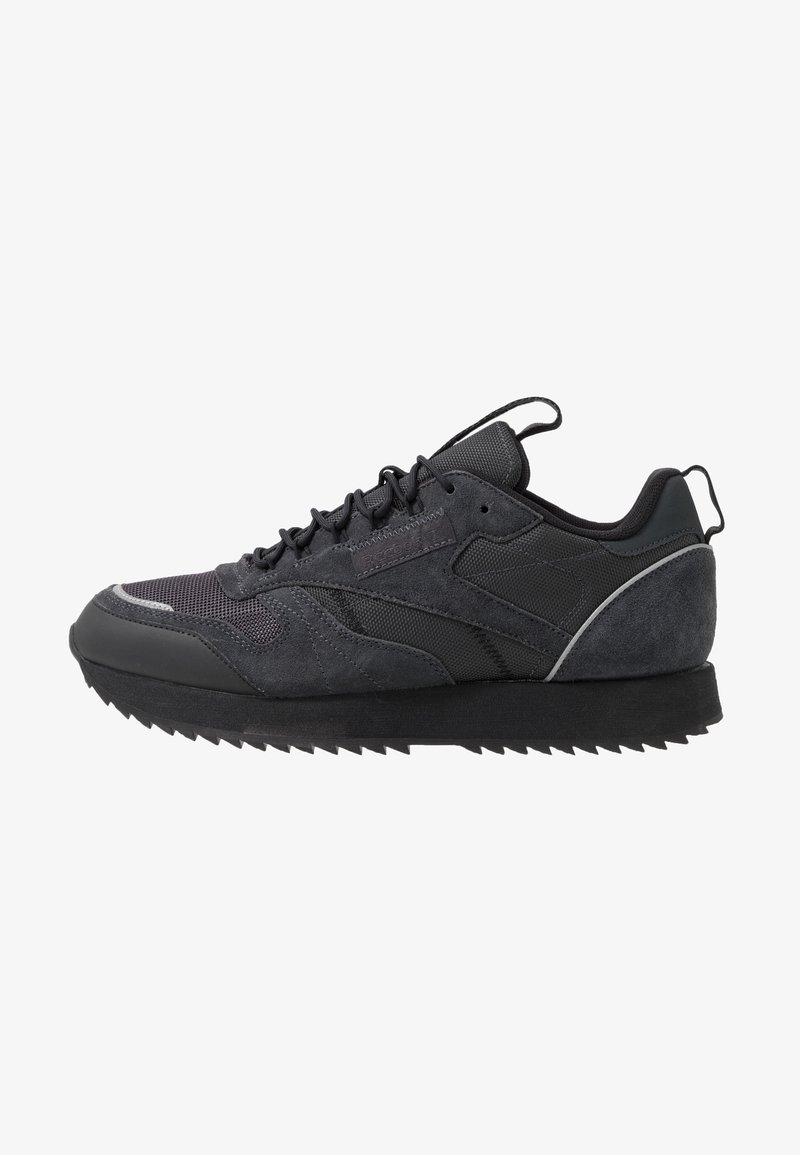 Reebok Classic - CLASSIC LEATHER RIPPLE TRAIL MUD GUARD SHOES - Sneaker low - true grey/black/panton