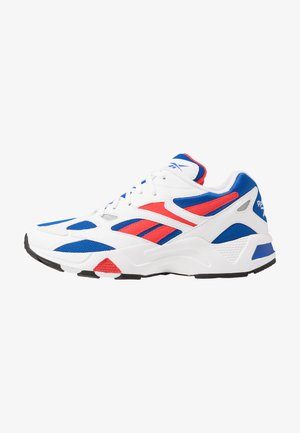 AZTREK 96 - Sneakersy niskie - white/humble blue/radiant red