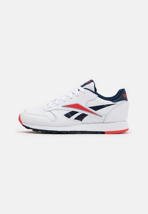 UNISEX - Trainers - white/radiant red/collegiate navy