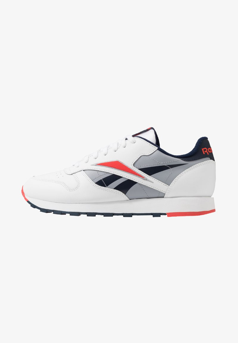 Reebok Classic - Baskets basses - white/radiant red/collegiate navy